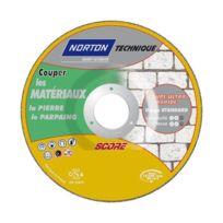 Norton Clipper - Disque de tronconnage Norton Technique Score Matériaux Ø 230 Epaisseur 2.5 pour Matériaux -66252833107