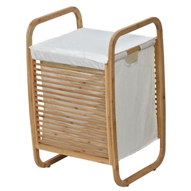 pani re linge en bois. Black Bedroom Furniture Sets. Home Design Ideas