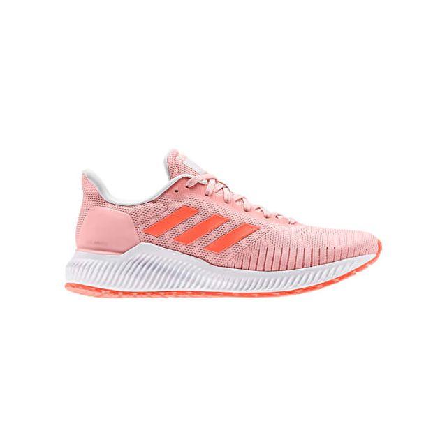 Adidas Chaussures Solar Glide rose orange blanc femme