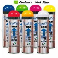 SOPPEC - Traceur de chantier Fluorescent Temporaire 2-8 Sem, Vert Fluo - 141618