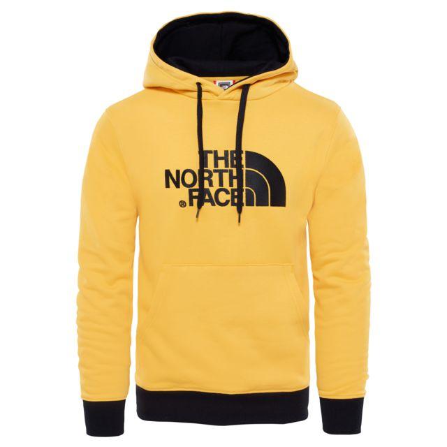 5d4c9ca0b5a21 The north face - M Drew Peak Sweat Capuche Homme - pas cher Achat   Vente  Sweat homme - RueDuCommerce