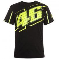 Vr 46 - T-shirt Black Yellow Vr46