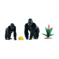 Gorilles en quête de nourriture - 42382
