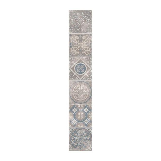 plage sticker d co carrelage antico elvas6 planches 15 x 15 cm pas cher achat vente. Black Bedroom Furniture Sets. Home Design Ideas