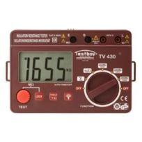 Zisaline - Mégohmmètre numérique - Testboy Tv 430 N