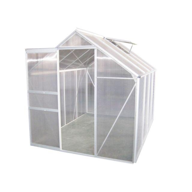 serre en aluminium 5 m pas cher achat vente serres en. Black Bedroom Furniture Sets. Home Design Ideas