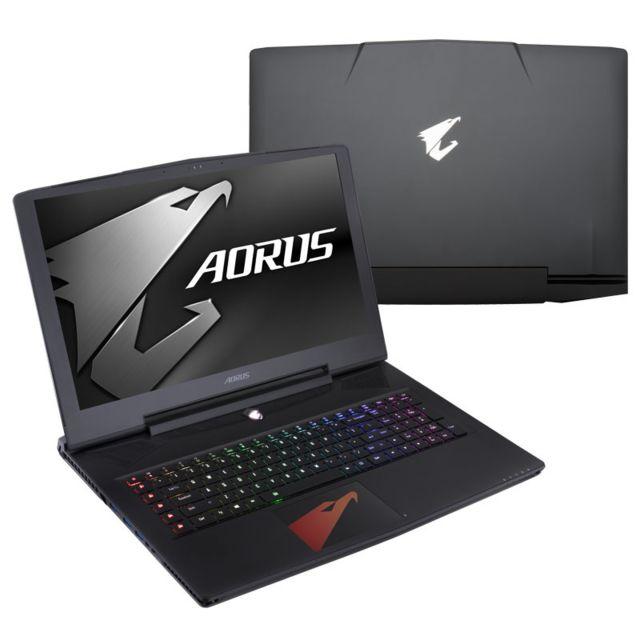 gigabyte ordinateur portable aorus x7v7 de326t 43 90 cm 17 3 pouces pas cher achat vente. Black Bedroom Furniture Sets. Home Design Ideas
