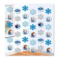 Amscan - Décoration guirlande à suspendre La Reine Des Neiges - Frozen