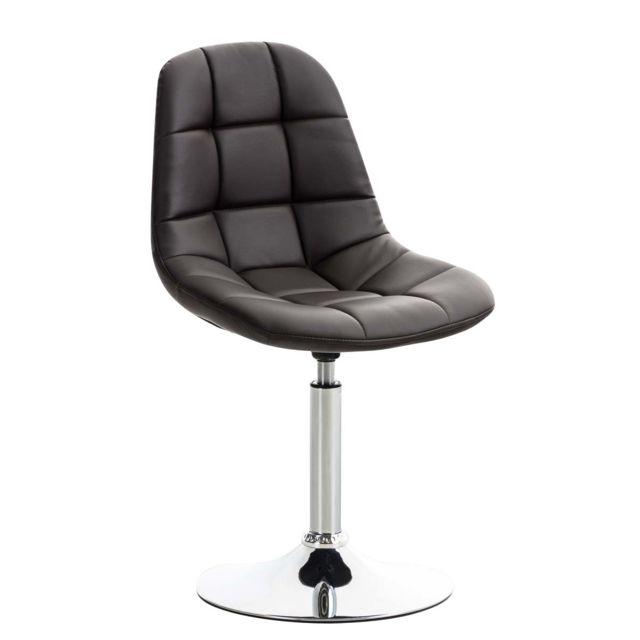 Distingué Chaise de salle à manger, de cuisine, de salon Asuncion Cuir synthetique