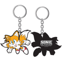 Sonic - The Hedgedog Porte-clés caoutchouc Flying Tails