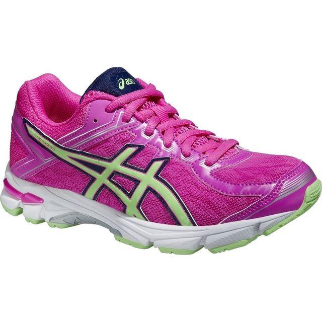 1777b15321279 Asics - Gel Gt-1000 4 Gs C558N-3587 Enfant mixte Baskets Rose - pas cher  Achat   Vente Chaussures running - RueDuCommerce