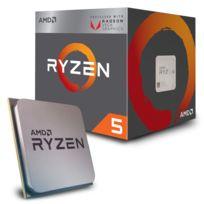 Amd - Processeur Ryzen 5 2400G 3,9 Ghz Raven Ridge, Sockel Am4 - boxed