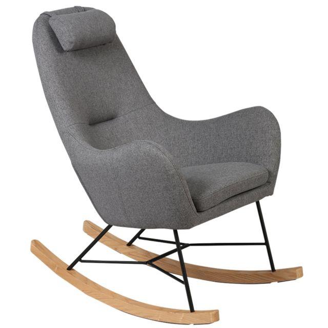 Altobuy Rosa - Rocking-Chair Gris