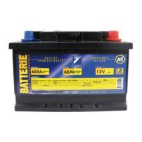 Auto 7 - Batterie 12V 65AH 480A EN, : Auto7