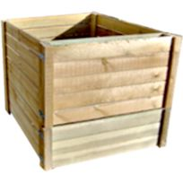 MARQUE GENERIQUE - Producteur d'engrais naturelle de grand capacité :900 l en bois traités