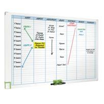 ACCO - 3048201 - planning magnétique effaçable hebdomadaire - format 60x90 cm
