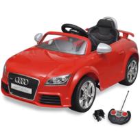 Rocambolesk - Superbe Voiture électrique pour enfant Audi Tt Rs rouge avec télécommande neuf