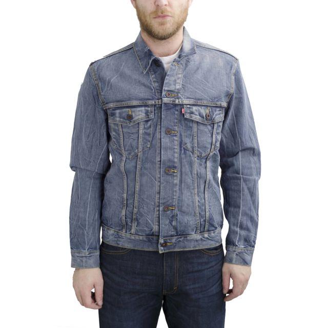 Levis skateboarding - jacket Trucker Homme - pas cher Achat   Vente Blouson  homme - RueDuCommerce a23d62b060c7