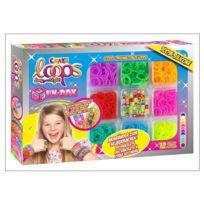 Craze - 51192 Loops - Fun Box. 12 couleurs et accessoires