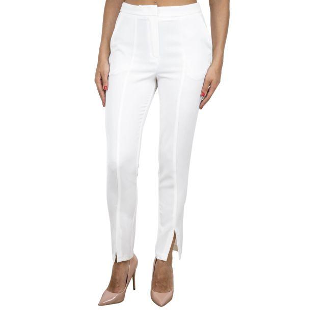 Dixie Femme P218L0501100 Blanc Coton Pantalon