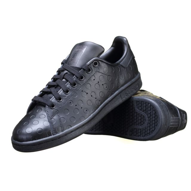 86bf924fa16 Adidas - Chaussure Stan Smith W S32263 Noir - pas cher Achat   Vente  Baskets homme - RueDuCommerce