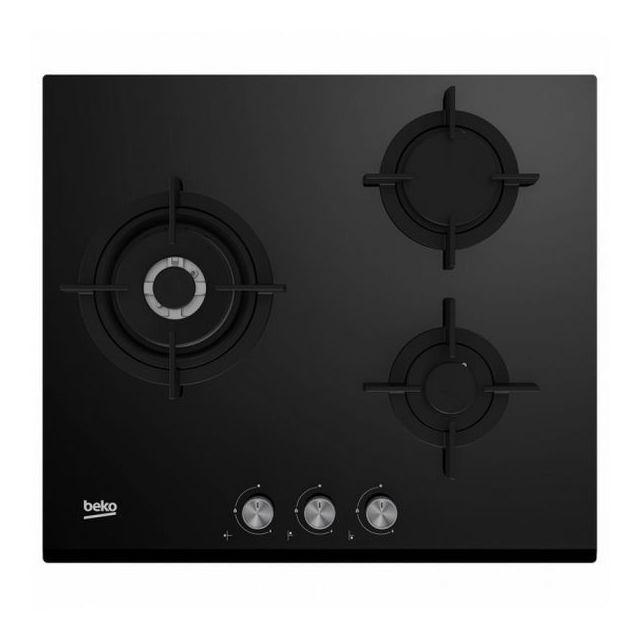 Totalcadeau Plaque au gaz intégrable 60 cm 3 Cuisinières table de cuisson Butane