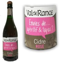 Ecusson - Cidre rose Val de Rance Aperitif & Tapas