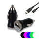 Lapinette - Chargeur Voiture Allume Cigare + Cable Usb Pour Smartphone