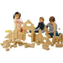 House Of Kids - Jeu de constructtion briques geantes en bois naturel