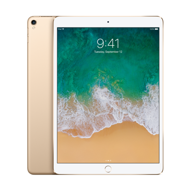 "APPLE - iPad Pro - 10,5"" - 512 Go - WiFi - MPGK2NF/A - Or"