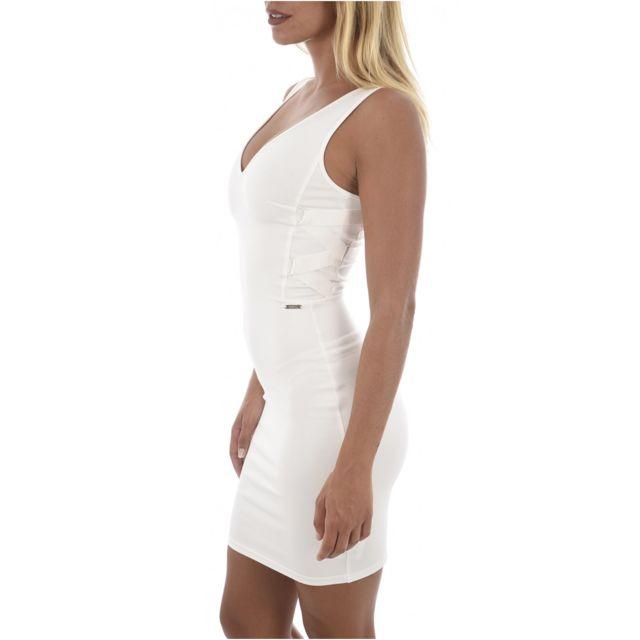 Guess Pas Robe Stretch W82k07 Jeans Les Blancs Cher Moulante H9IDEYW2