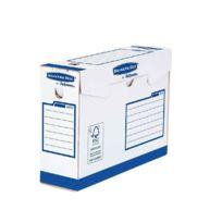 Bankers Box - 4472702 - boite archive 33x25 - dos 10cm - paquet de 20