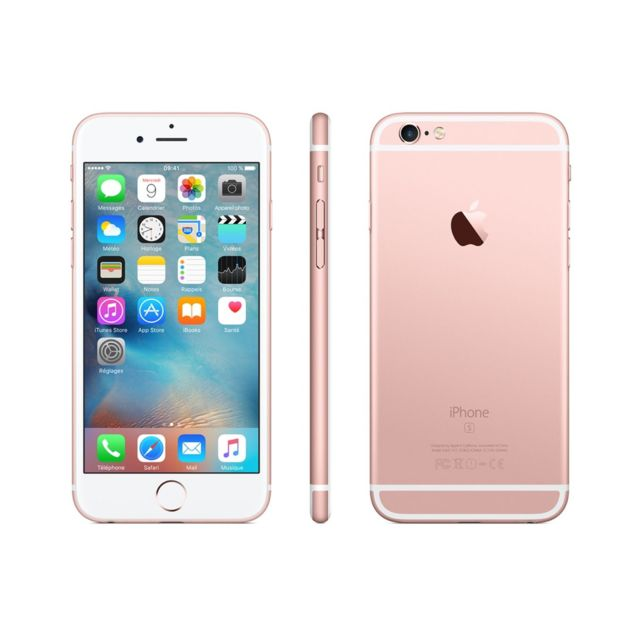 APPLE - iPhone 6S plus - 64 Go - Or Rose - Reconditionné