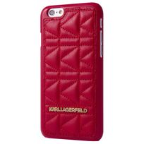 Karl Lagerfeld - Coque Kuilted Rouge Pour Apple Iphone 6+/6s