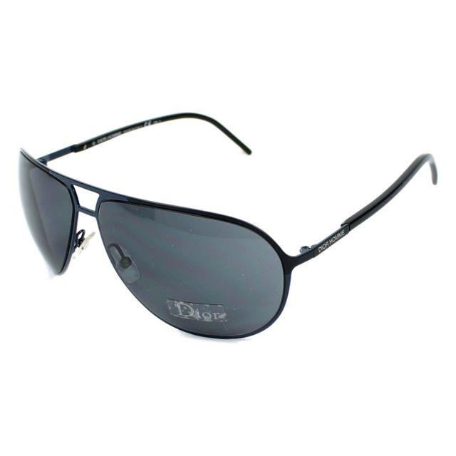 70d2eac1d6717b Christian Dior - Christian Dior - 0156S V3VBN Bleu - Noir - Lunettes de  soleil