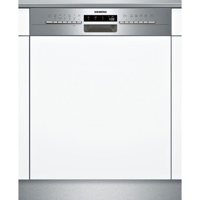SIEMENS lave-vaisselle intégrable 60cm 12c 46db a+ avec bandeau inox - sn536s01ae