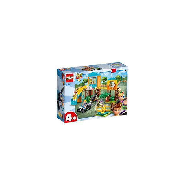 Lego 10768-® Toy Story 4 Disney Pixar l'aventure de Buzz et la Bergère dans l'aire de jeu