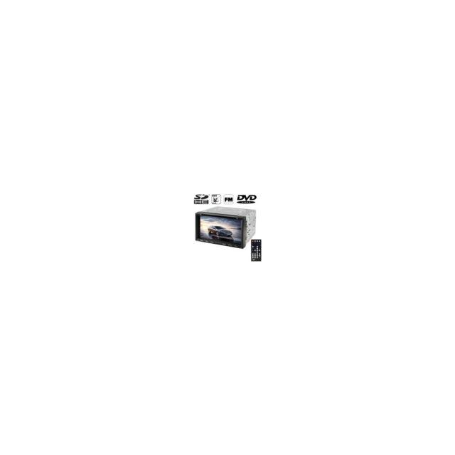 Auto-hightech lecteur Mp4 / lecteur Dvd de voiture à écran tactile Tft d'affichage numérique haute définition 6.95 pouces avec télécom