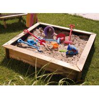 FORESTSTYLE - Bac à sable carré en bois Oscar