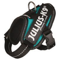Julius K9 - Julius-k9 Harnais Power Idc - Baby 1 - Xs : 29-36 cm-18 mm - Pétrole - Pour chien