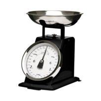 Premier Housewares - Balance de cuisine mécanique Bol inox Noir mat 3 kg Import Grande Bretagne