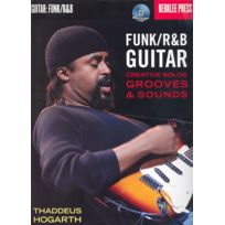 Hal Leonard - Méthodes Et Pédagogie Funk/r&b Guitar Creative Solos, Grooves And Sounds Bo - Guitar Guitare Acoustique
