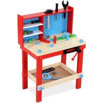 Infantastic - Établi pour enfant avec de nombreux accessoires
