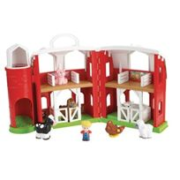 Fisher Price-little People - Fisher Price - Little People - Chj51 - Figurine Animation - La Ferme