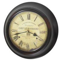 Chemin De Campagne - Horloge L Ecole de Cuisine Mural Entourage Fer ø 32 cm 839d41371dc8