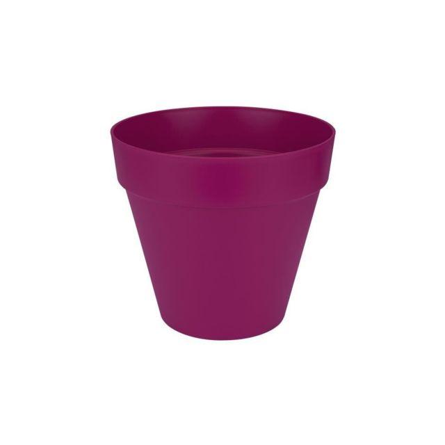 elho soucoupe carr e pot de fleur 28 cm blanc pas cher achat vente poterie bac fleurs. Black Bedroom Furniture Sets. Home Design Ideas