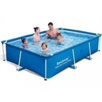 piscine tubulaire marron