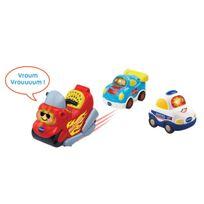 Vtech Baby - Tut Tut Bolides - Coffret trio Police