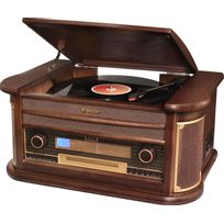 Chaine platine CD MP3 Bluetooth Retro Vintage - HIF-1996BT