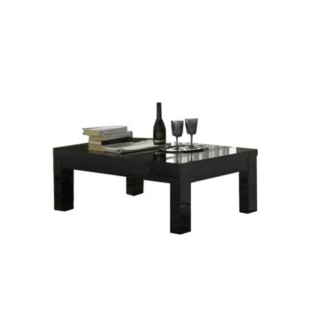 Decodesign Table Basse Roma LaquÉ Noir